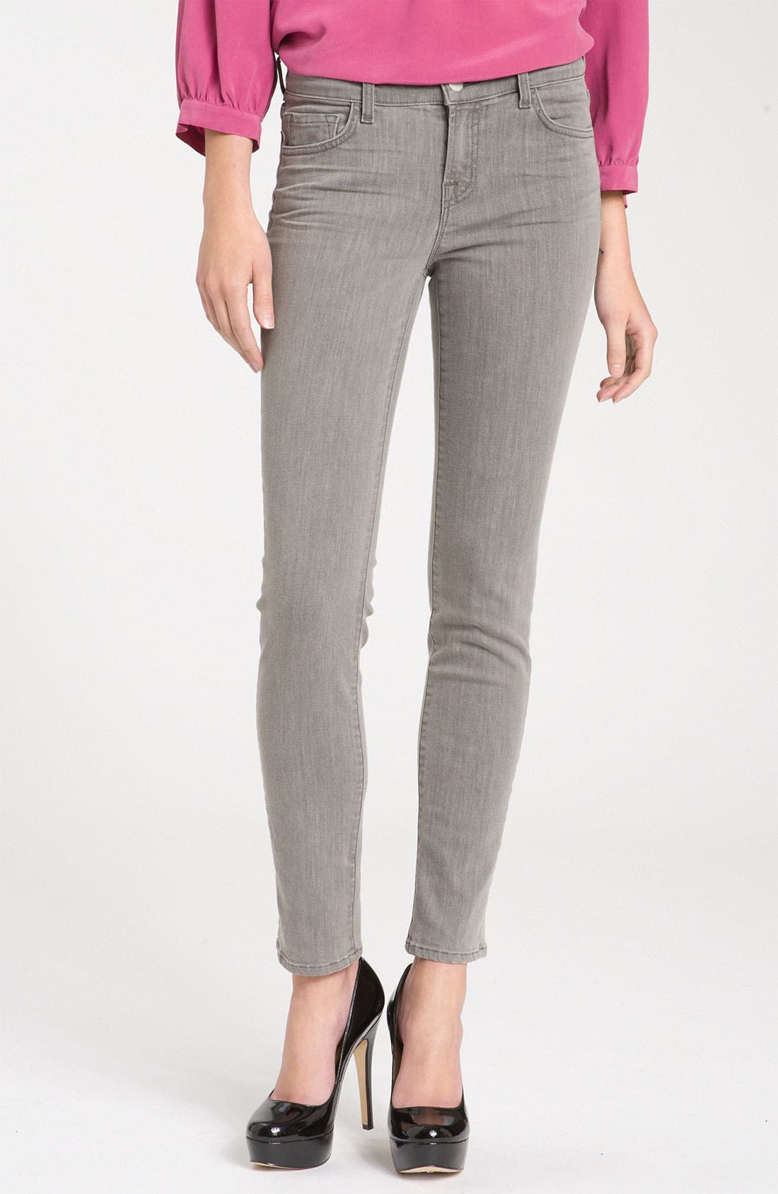 ,                             Skinny Stretch Ankle Jeans,                             Main thumbnail 19, color,                             064