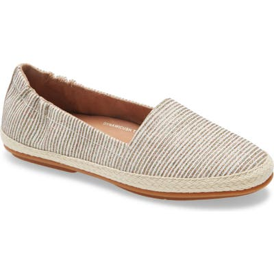 Fitflop Siren Espadrille Flat, Ivory