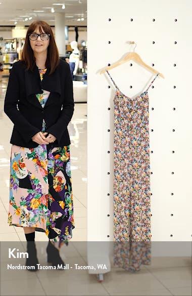 Floral Tie Back Jumpsuit, sales video thumbnail
