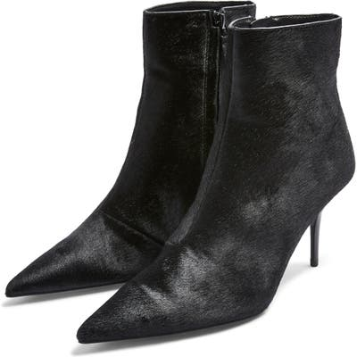 Topshop Hey Pointy Toe Bootie - Black