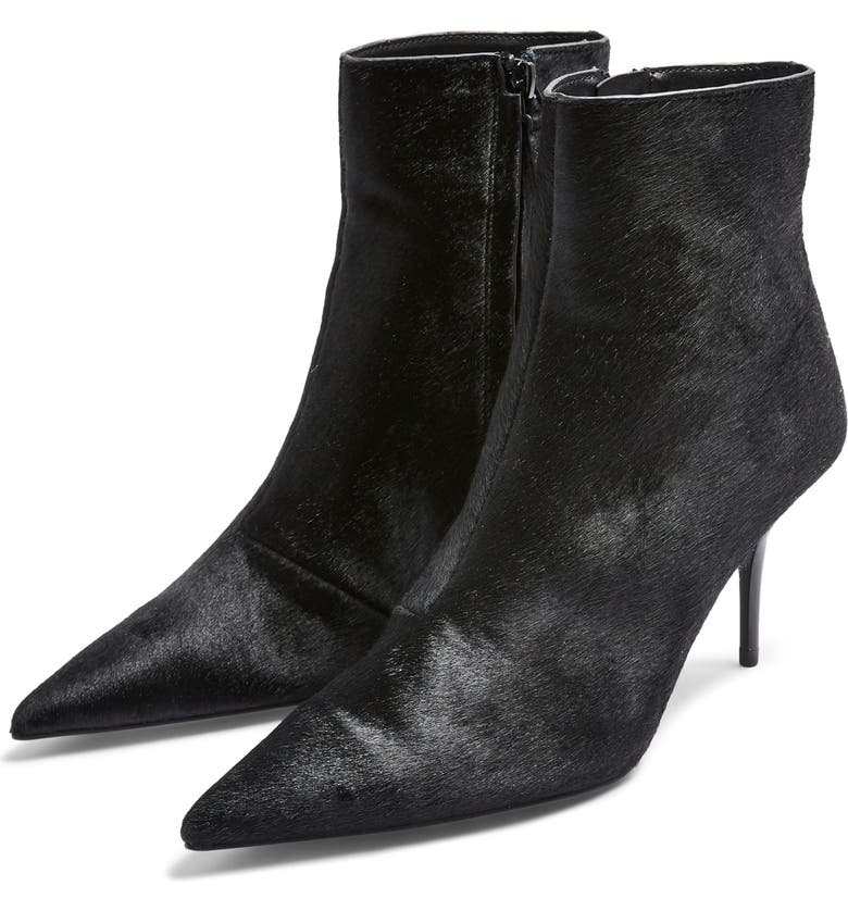 TOPSHOP Hey Pointy Toe Bootie, Main, color, 001
