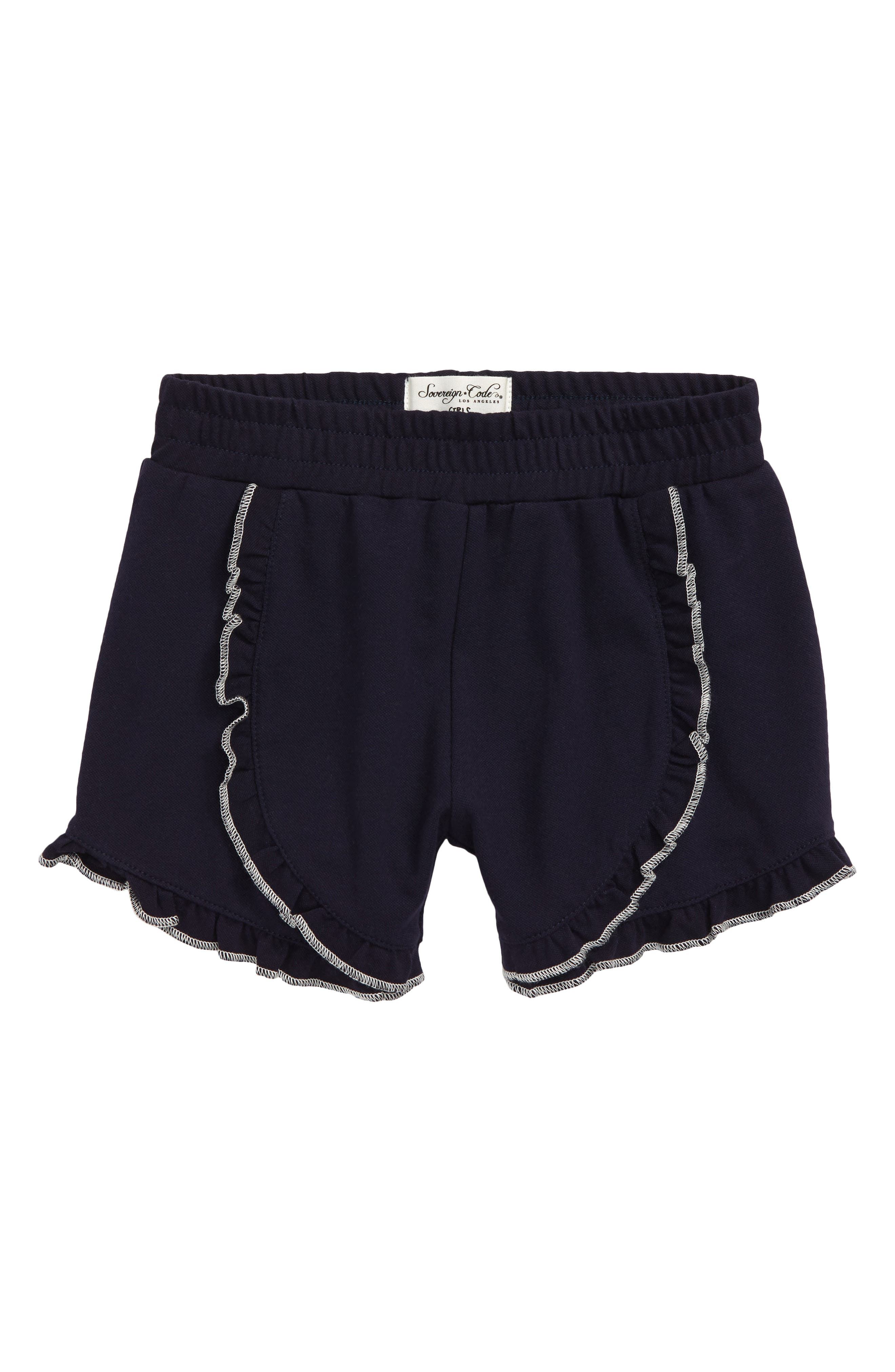 Toddler Girls Sovereign Code Dahlia Ruffle Shorts Size 3T  Blue