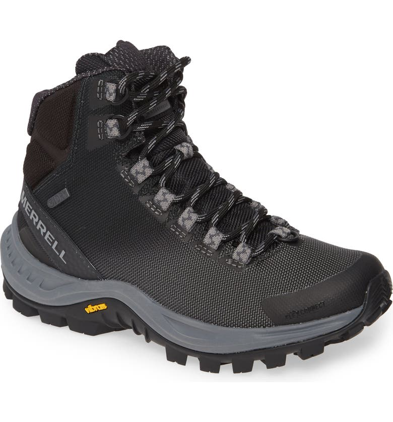 MERRELL Thermo Cross Waterproof Hiking Boot, Main, color, MIDNIGHT FABRIC