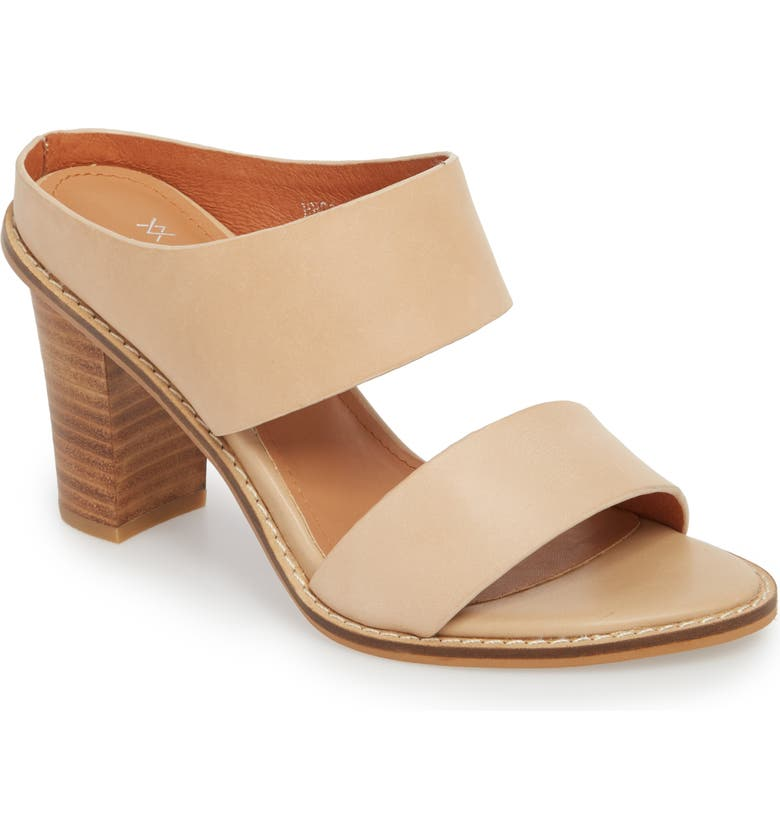 ALIAS MAE Erring Mule, Main, color, NATURAL LEATHER