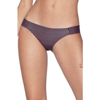 Maaji Kamali Docks Signature Cut Reversible Bikini Bottoms, Black