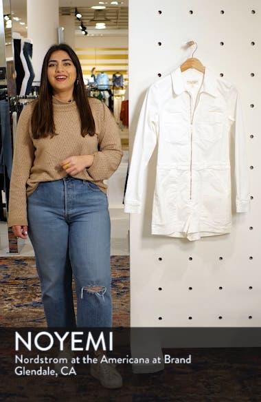 Soria Stretch Cotton Romper, sales video thumbnail