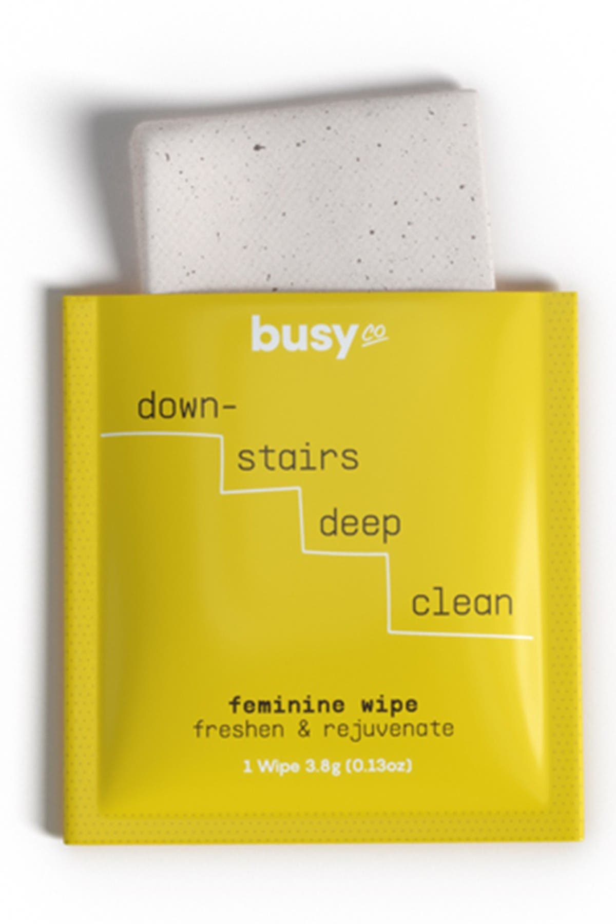 Image of Busy Co GLOW Feminine Wipes with Primrose Oil & Coconut