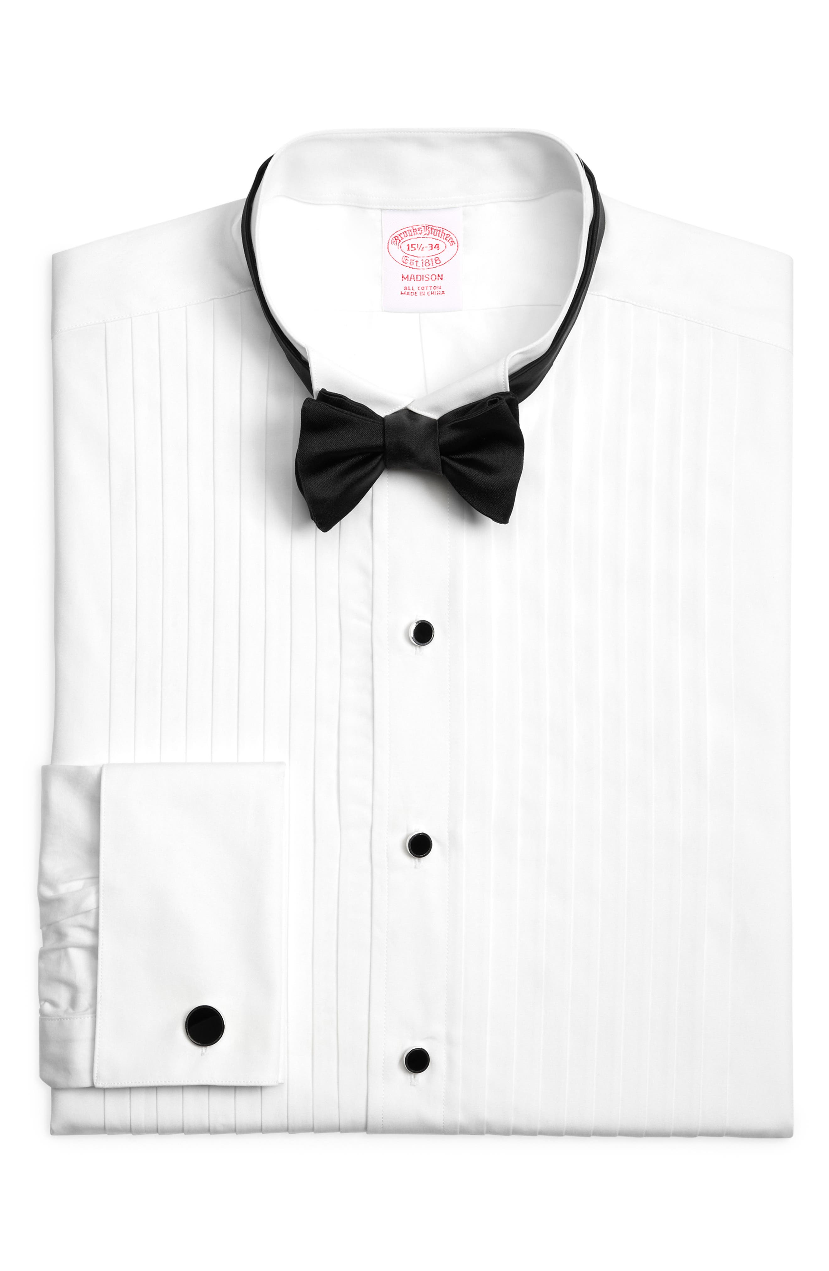 ,                             Madison Classic Fit Formal Shirt,                             Alternate thumbnail 2, color,                             WHITE