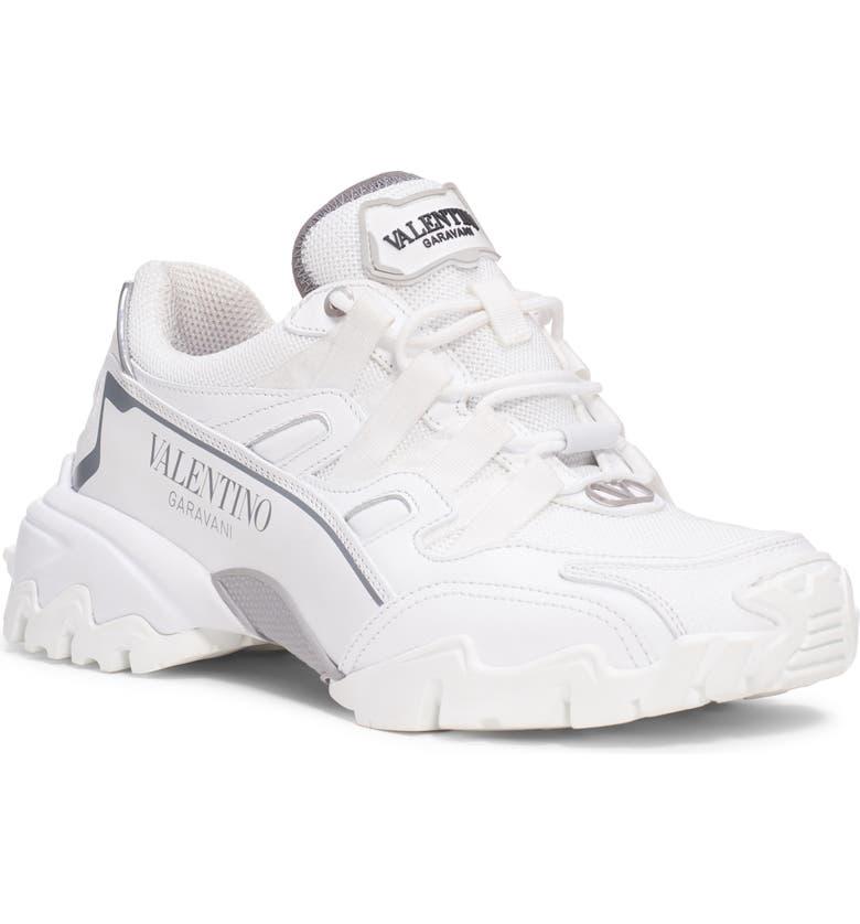 VALENTINO GARAVANI Climbers Sneaker, Main, color, WHITE