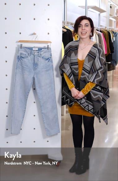 Le Sylvie High Waist Ankle Slender Straight Leg Jeans, sales video thumbnail