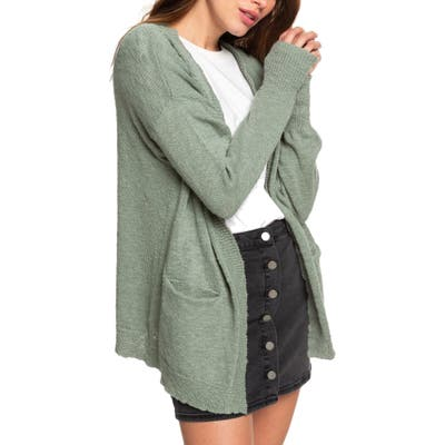 Roxy Valley Shades Cardigan, Green