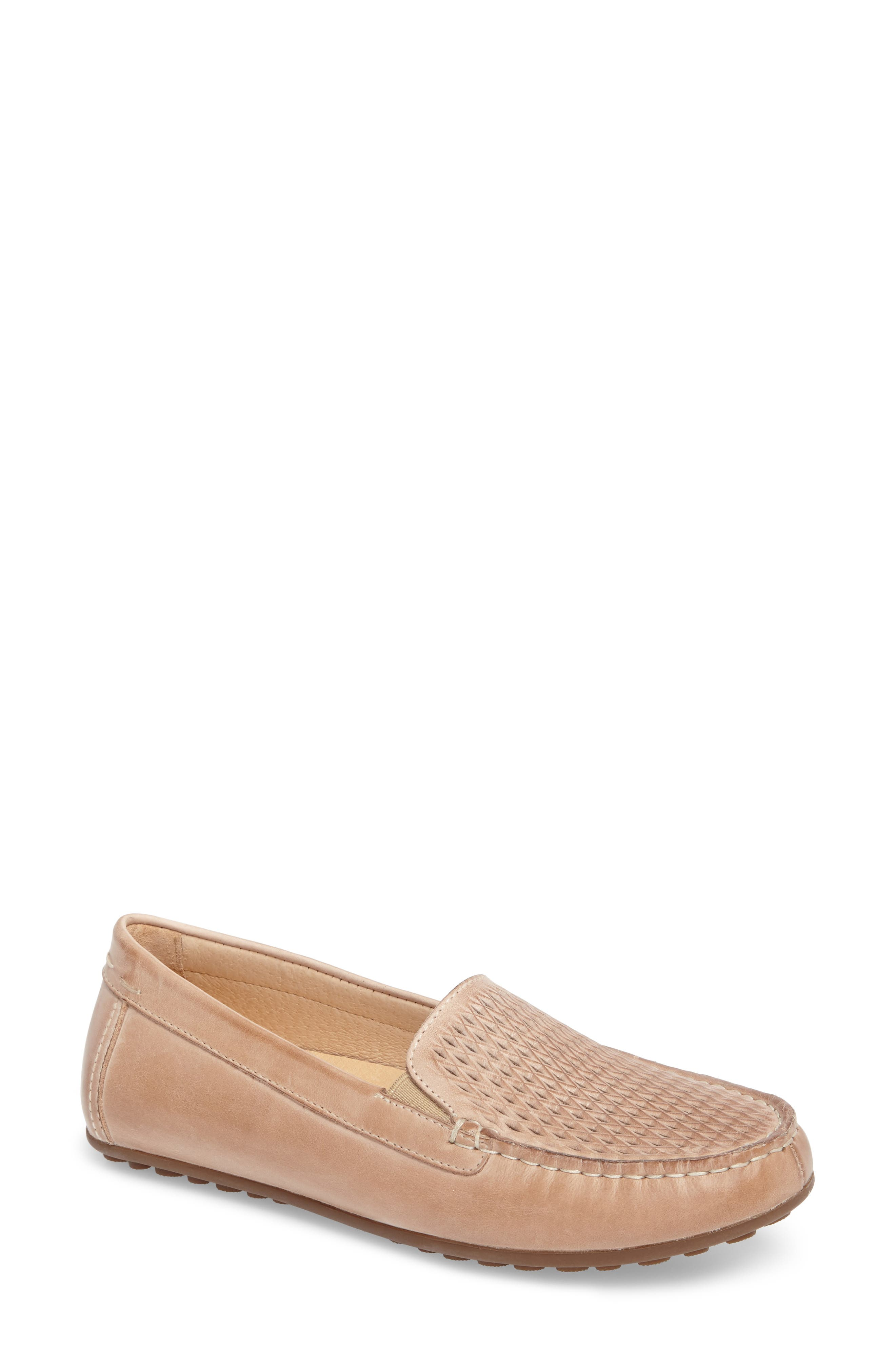 David Tate Posh Driving Loafer, Beige