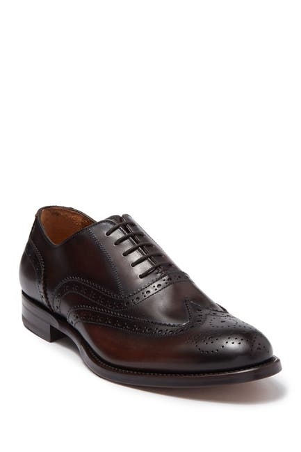 Image of Antonio Maurizi Wingtip Leather Dress Shoe