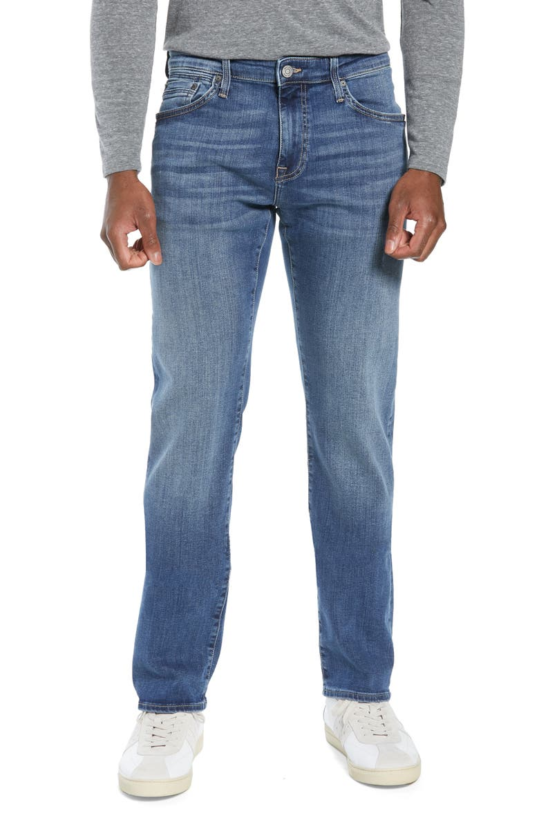 MAVI JEANS Zach Straight Leg Jeans, Main, color, MID FOGGY WILLIAMSBURG