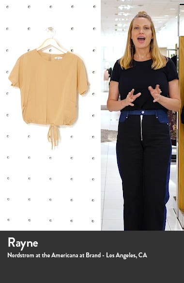 Drawstring Pocket Top, sales video thumbnail