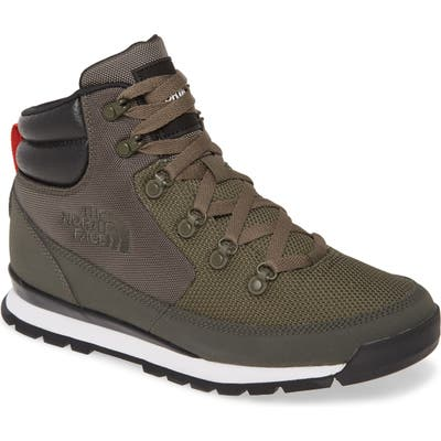 The North Face Back To Berkeley Redux Waterproof Boot- Green