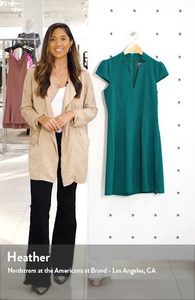 Notch Neck Fit & Flare Dress, sales video thumbnail