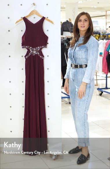 Cutout Waist Gown, sales video thumbnail