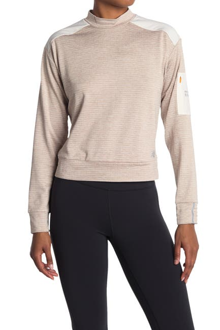 Image of New Balance Heat Grid Long Sleeve T-Shirt