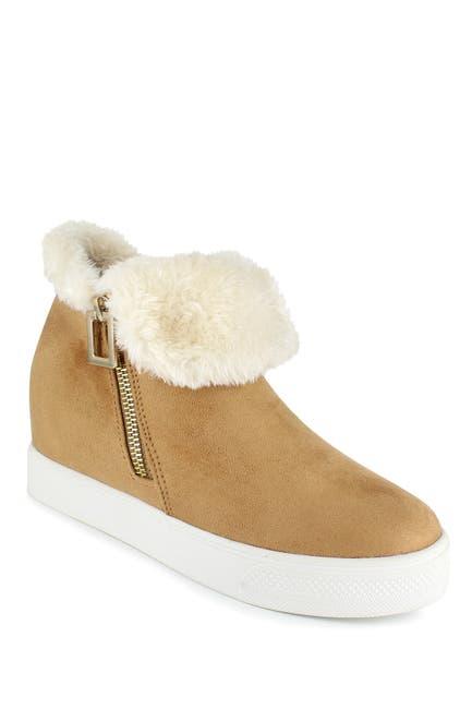 Image of Rock & Candy Faux Fur & Faux Suede Sneaker