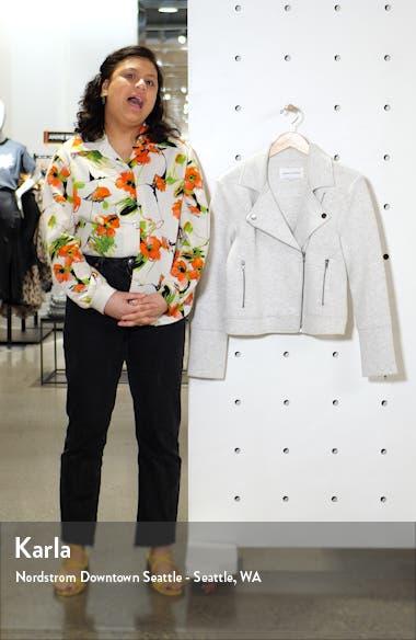 Annabelle Knit Moto Jacket, sales video thumbnail