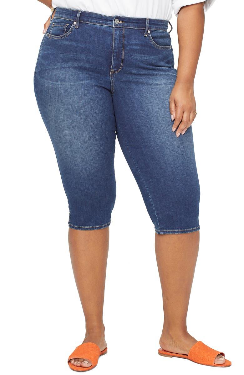 NYDJ Cool Embrace Skinny Capri Jeans, Main, color, 300