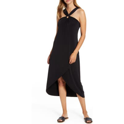 Tommy Bahama Carmela Halter Dress, Black