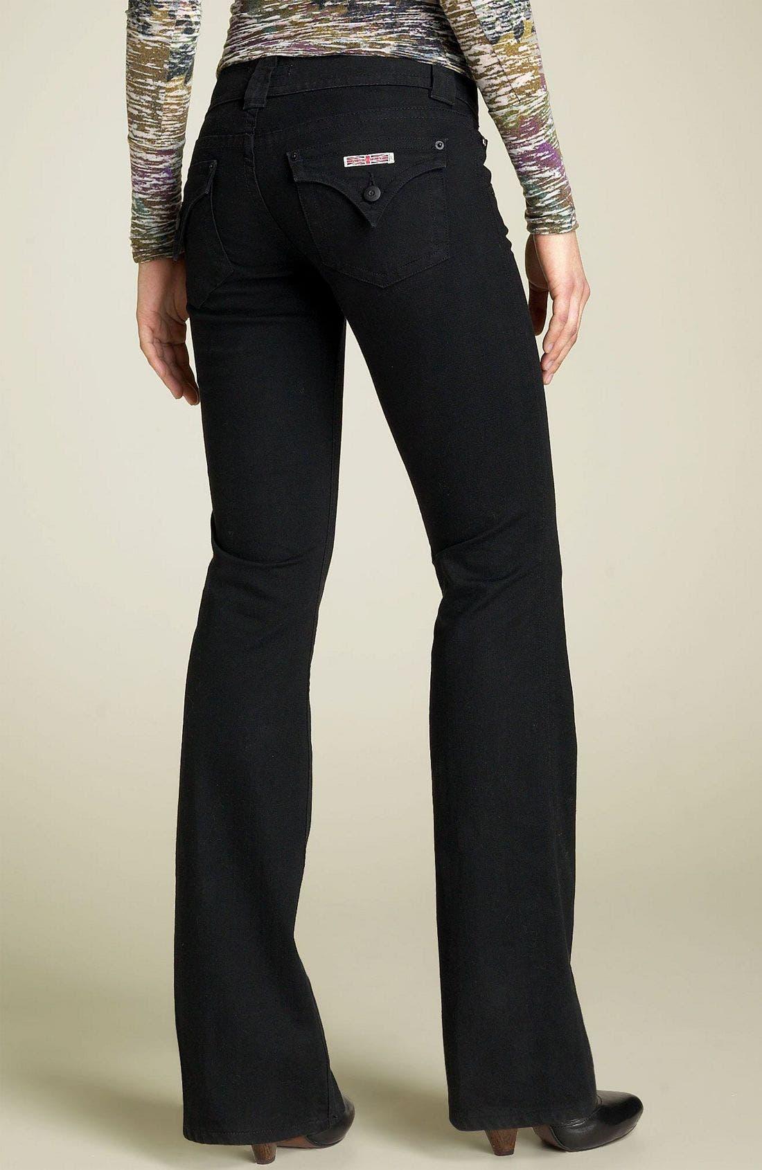 ,                             Signature Flap Pocket Bootcut Jeans,                             Alternate thumbnail 10, color,                             001