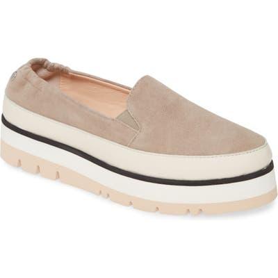 Agl Platform Slip-On Sneaker - Beige
