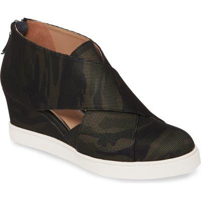 Linea Paolo Faith Wedge Sneaker, Green
