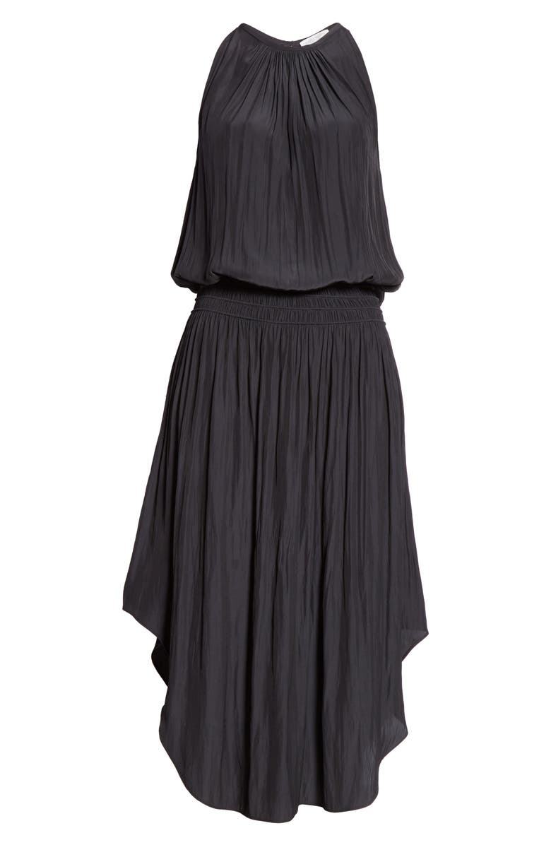 RAMY BROOK Audrey Blouson Dress, Alternate, color, BLACK