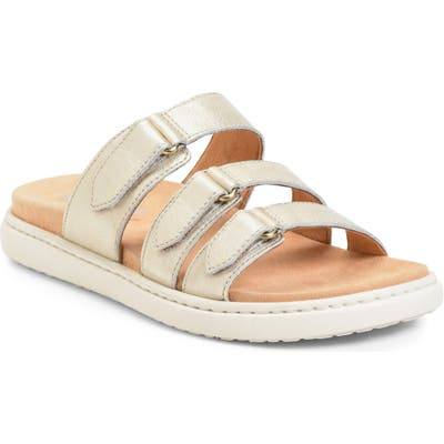B?rn Daintree Slide Sandal, Metallic