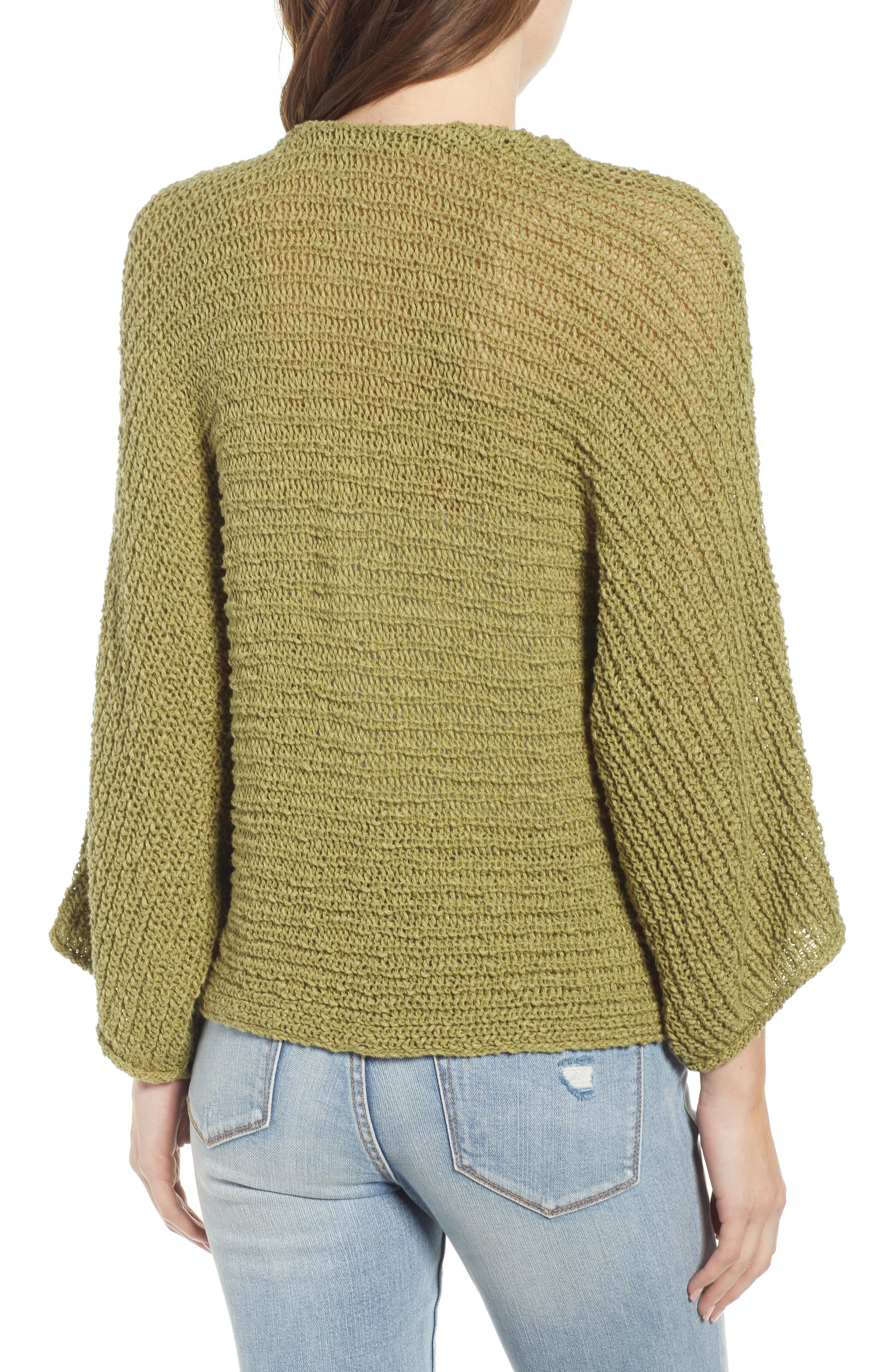 ,                             Dolman Sleeve Button Front Cardigan,                             Alternate thumbnail 2, color,                             OLIVE EMERALD