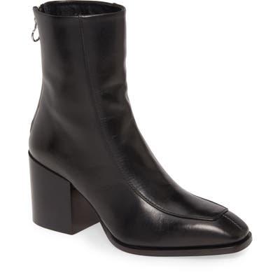 Aeyde Lidia Block Heel Bootie, Black