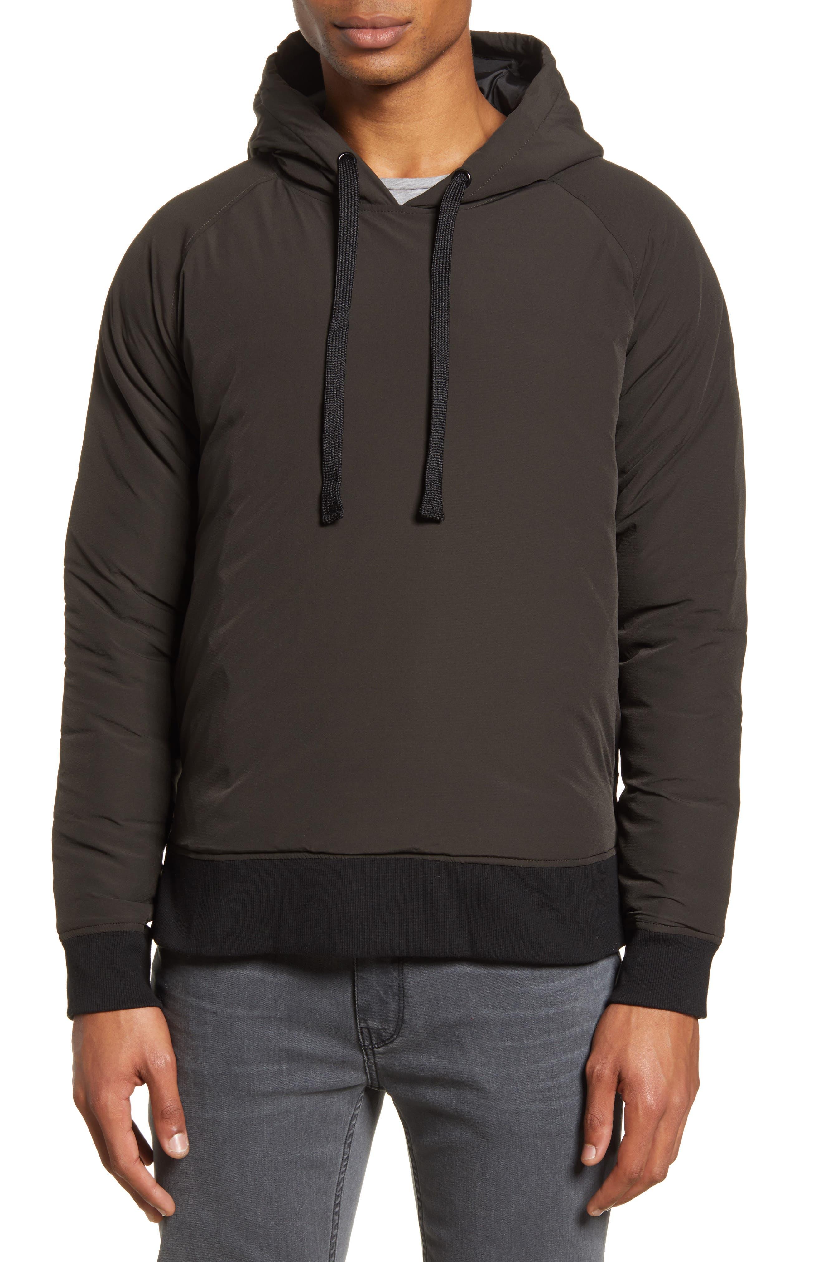 Image of ACYCLIC Side Zip Slim Fit Hooded Jacket