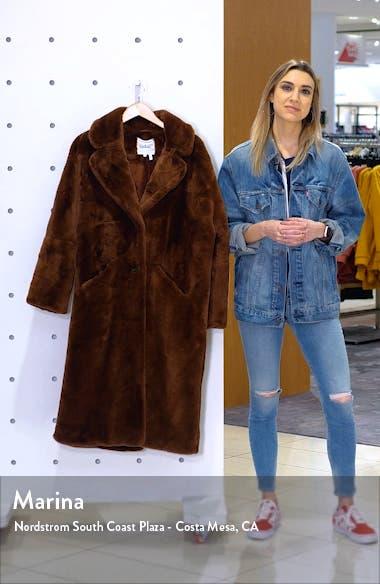 Fibie Faux Fur Coat, sales video thumbnail