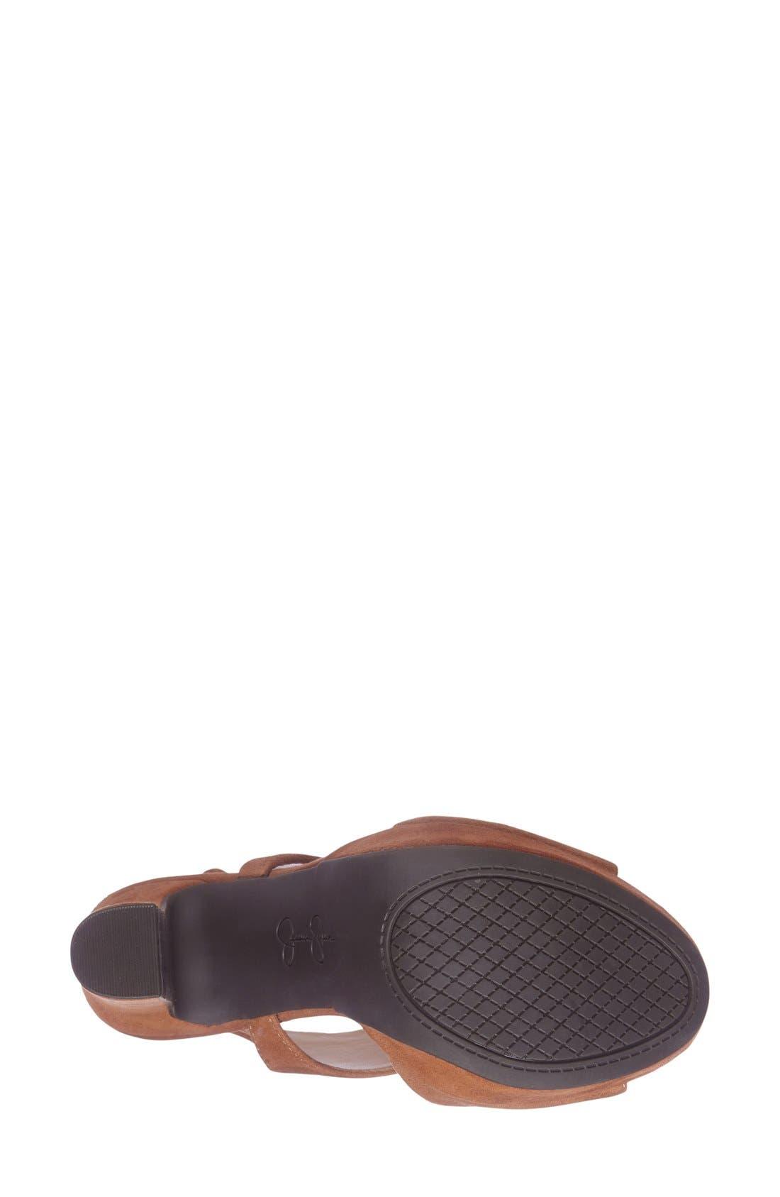 ,                             'Barrow' Platform Sandal,                             Alternate thumbnail 6, color,                             241