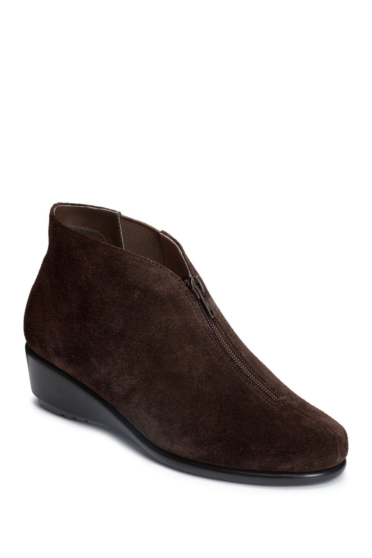Image of Aerosoles Allowance Suede Ankle Bootie - Wide Width Available