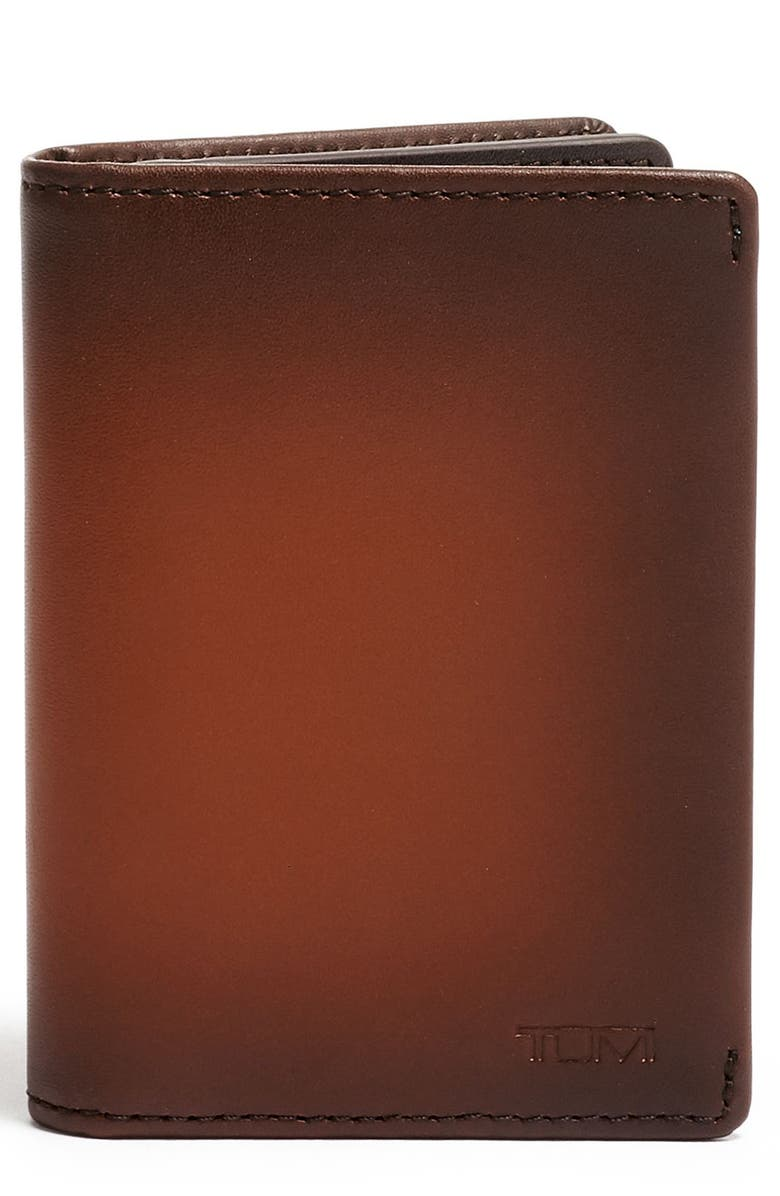 TUMI Hassau Gusseted Card Case, Main, color, 200
