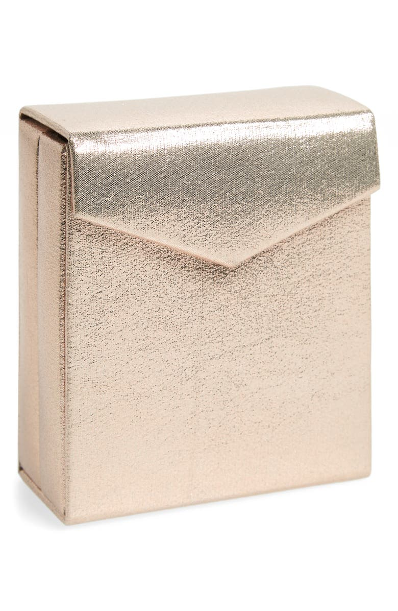 NORDSTROM Fold-Up Jewelry Travel Box, Main, color, ROSE GOLD