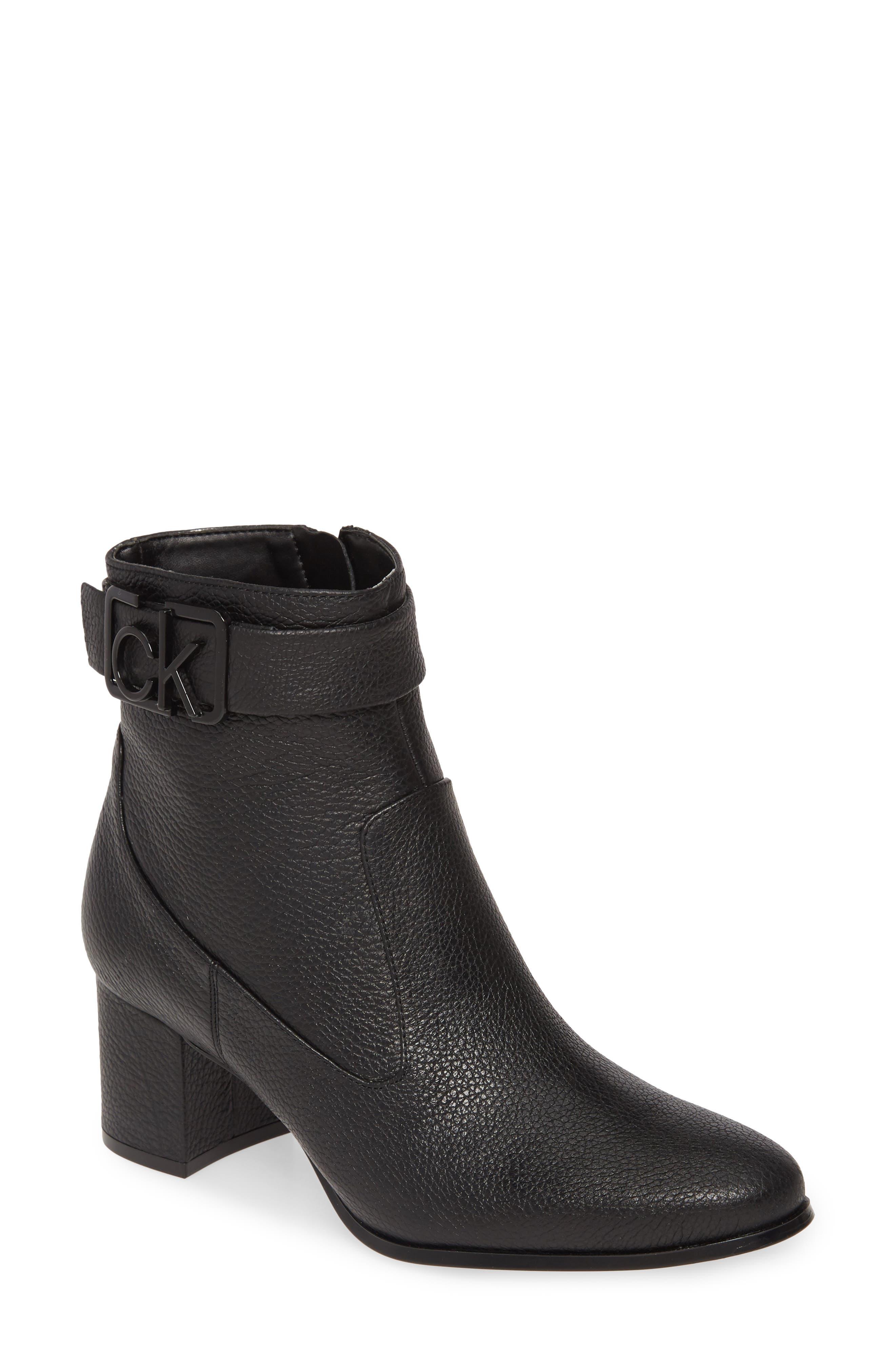 Vintage Boots- Buy Winter Retro Boots Womens Calvin Klein Freema Bootie $149.95 AT vintagedancer.com