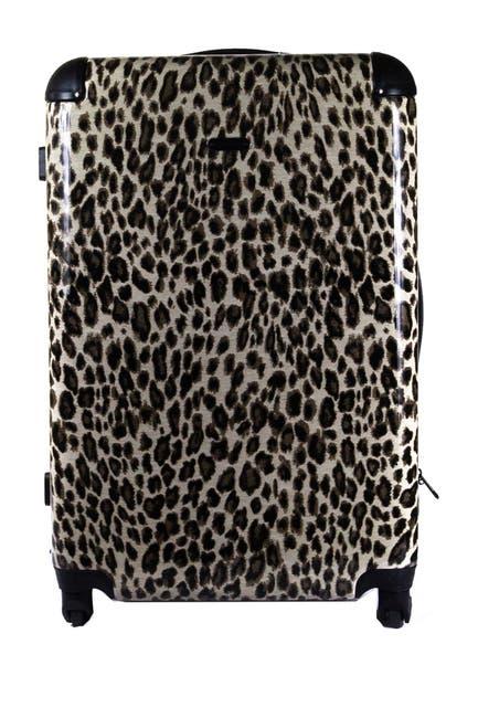 """Image of Rebecca Minkoff Kate Leopard Print 21"""" Hardside Upright Spinner"""