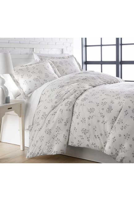 Image of SOUTHSHORE FINE LINENS King/California King Luxury Collection Premium Oversized Duvet Cover Set - Gray