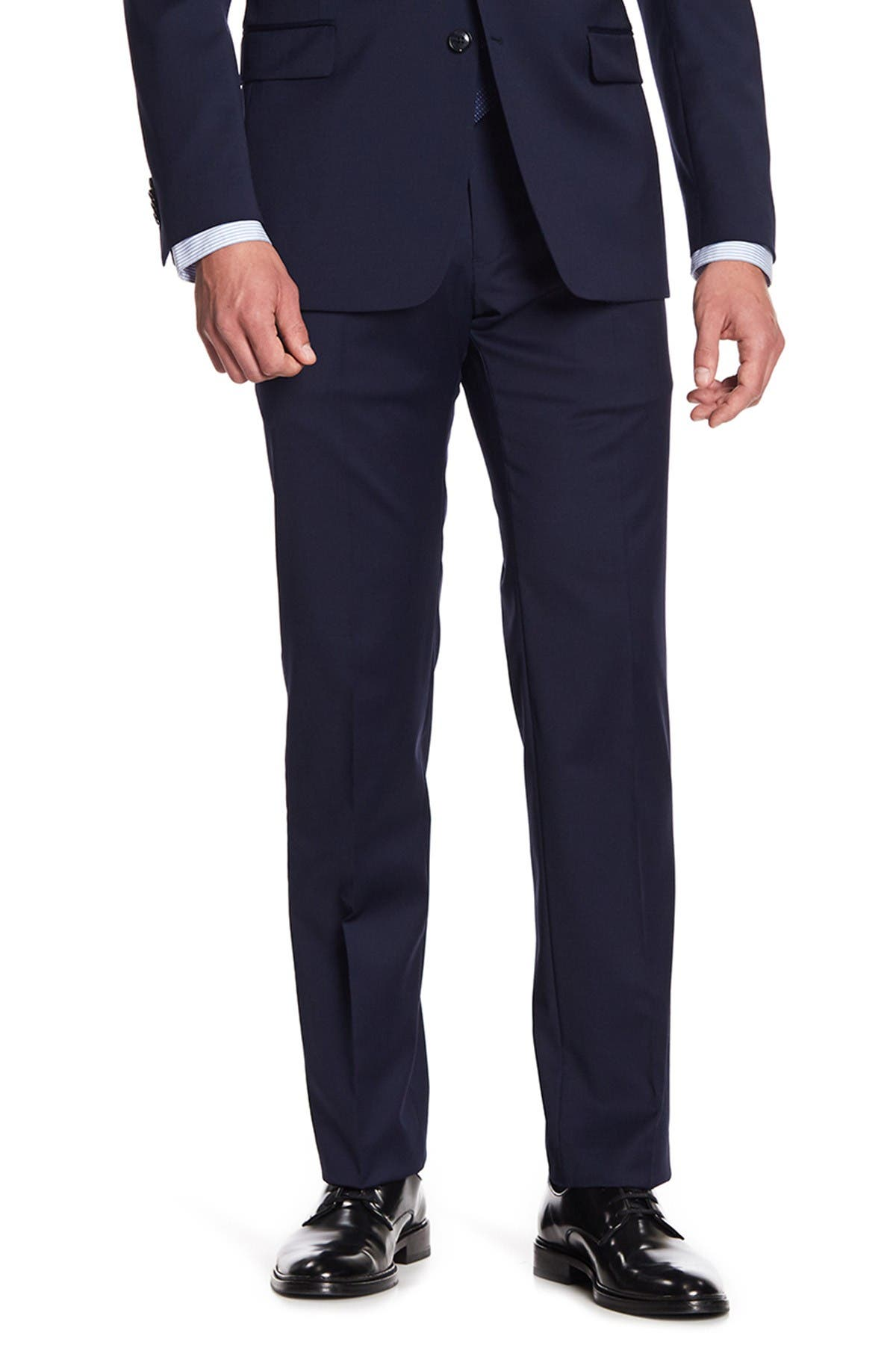 """Image of Tommy Hilfiger Tyler Modern Fit TH Flex Performance Suit Separates Pants - 29-34"""" Inseam"""