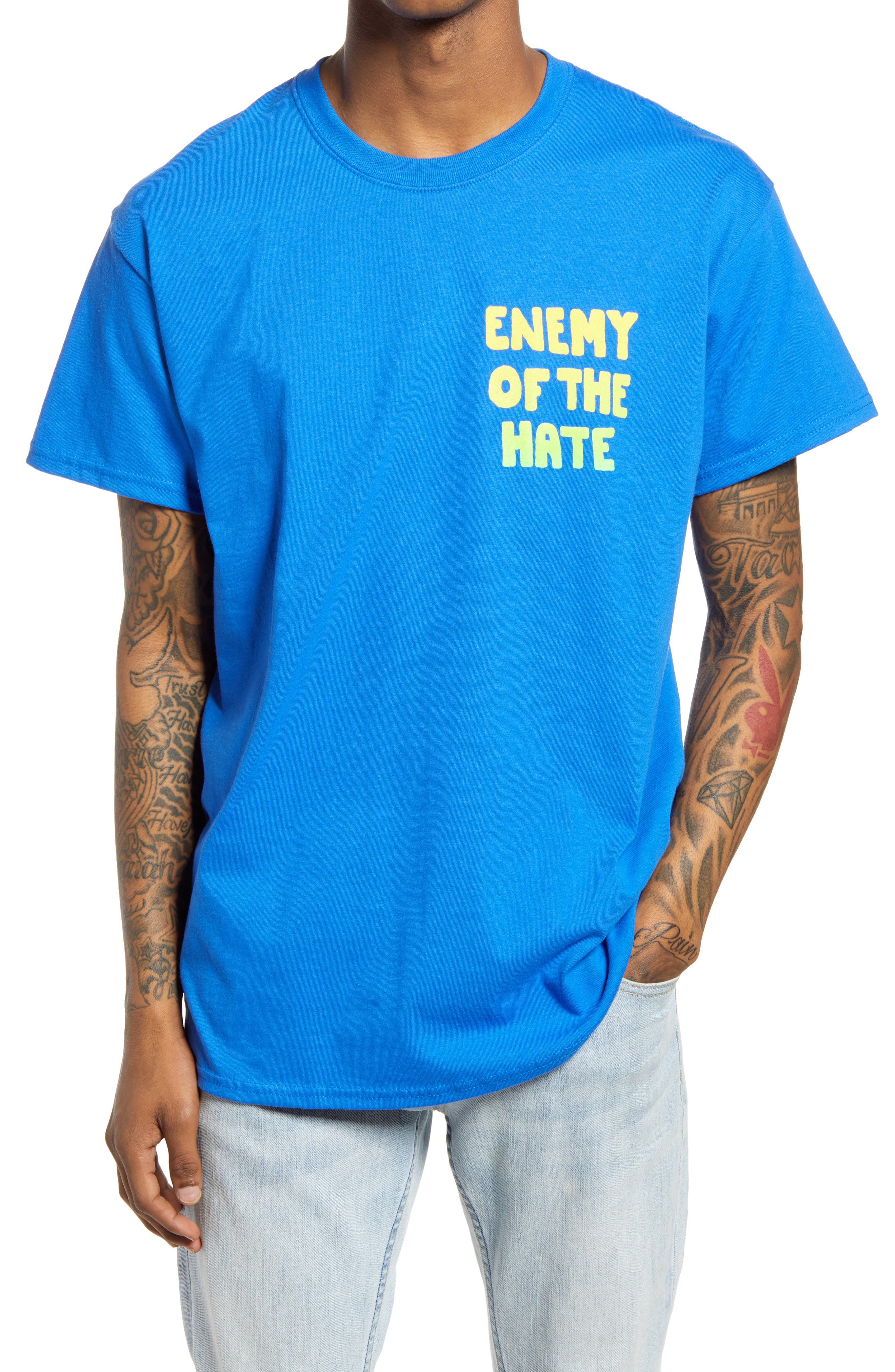 Men's Enemy Of The Hate Graphic Tee