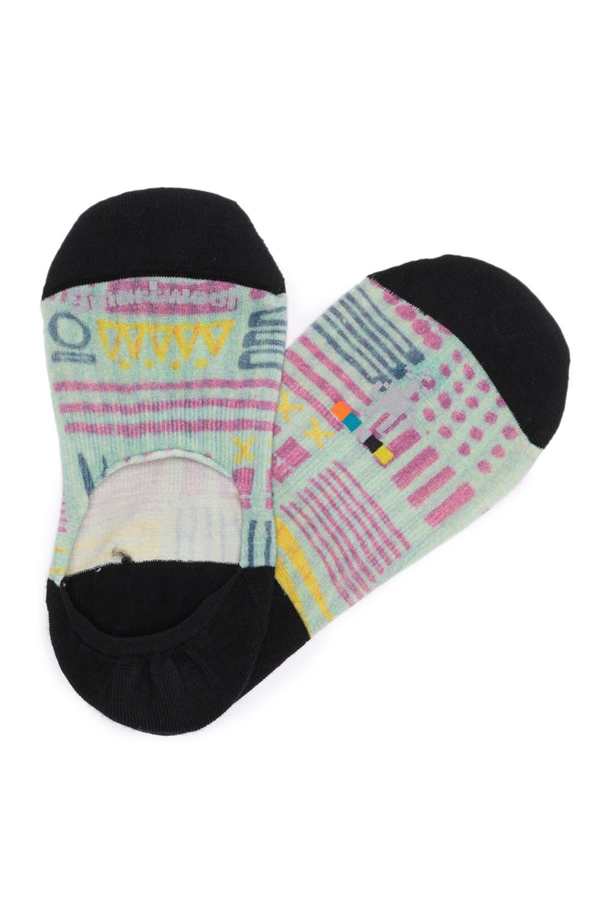 Image of SmartWool Curated Haiku Mood No Show Socks