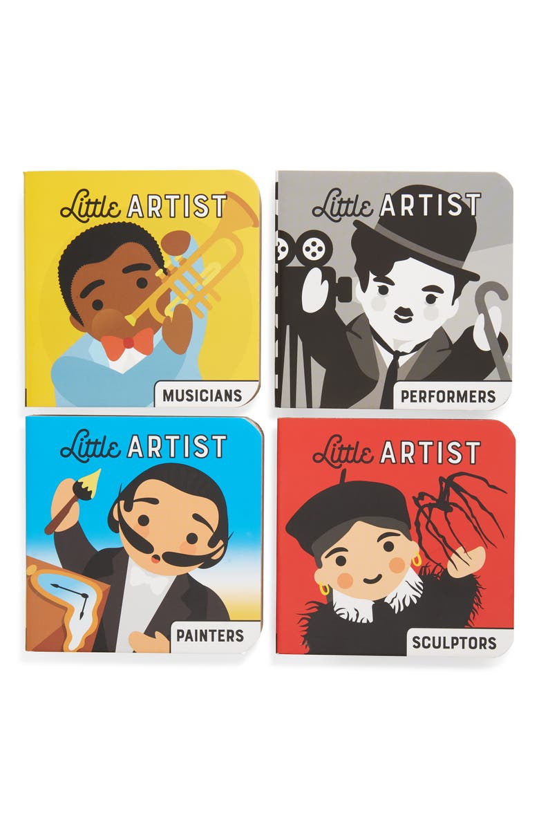 CHRONICLE BOOKS 'Little Artist' Board Book Set, Main, color, MULTI