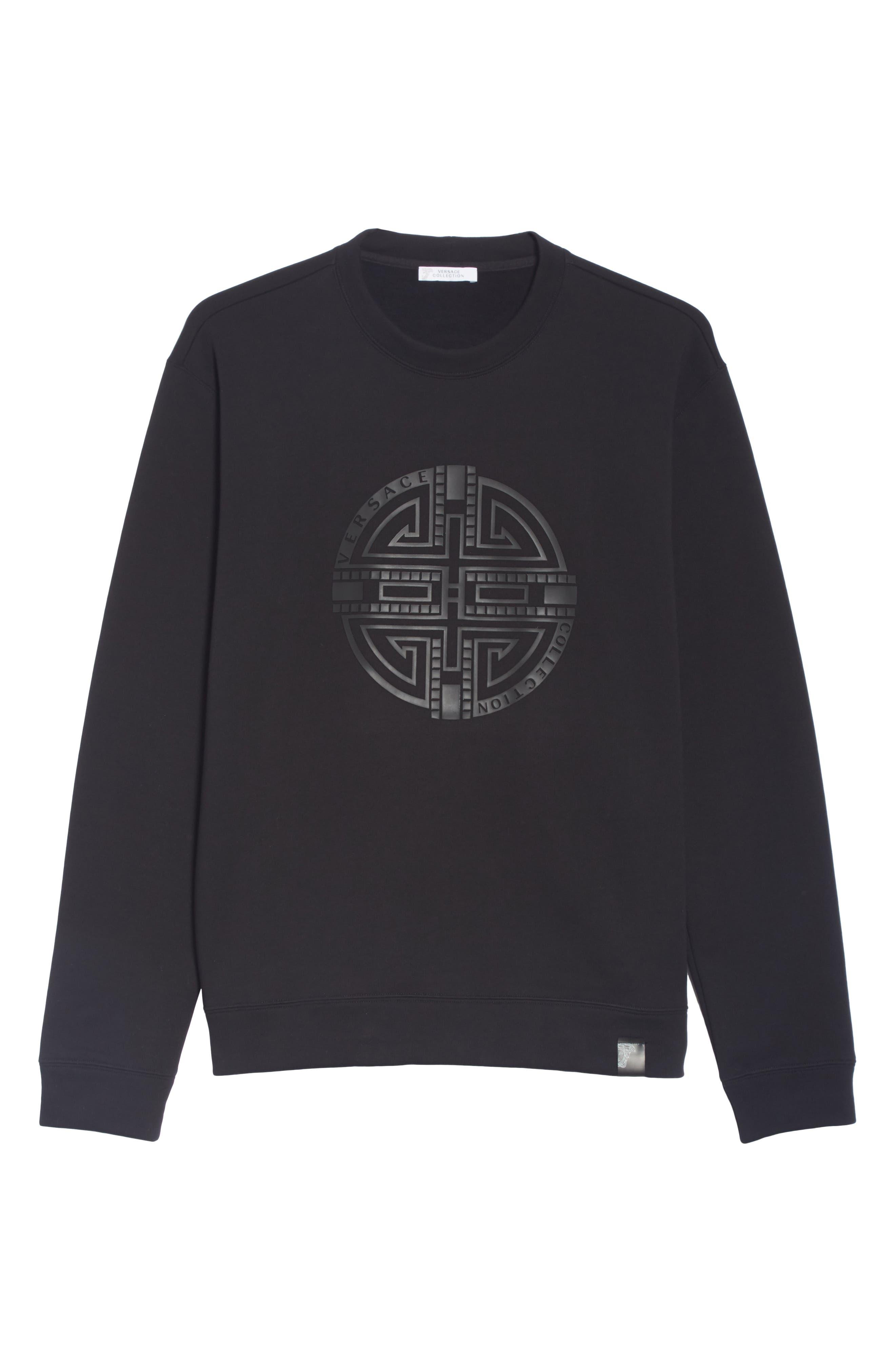 ,                             Large Logo Sweatshirt,                             Alternate thumbnail 6, color,                             001