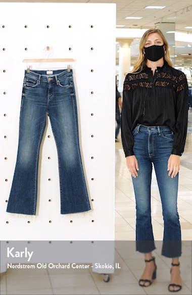 Fray Hem Bootcut Jeans, sales video thumbnail