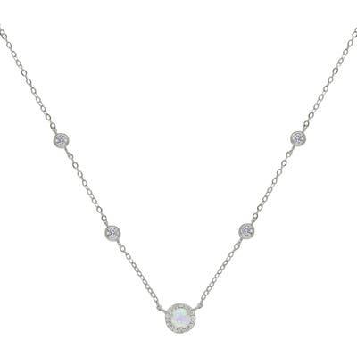 Ettika Opal Chain Necklace